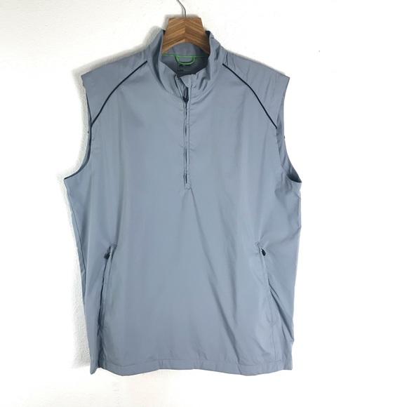 467db15c6b Adidas Mens climaproof golf wind vest